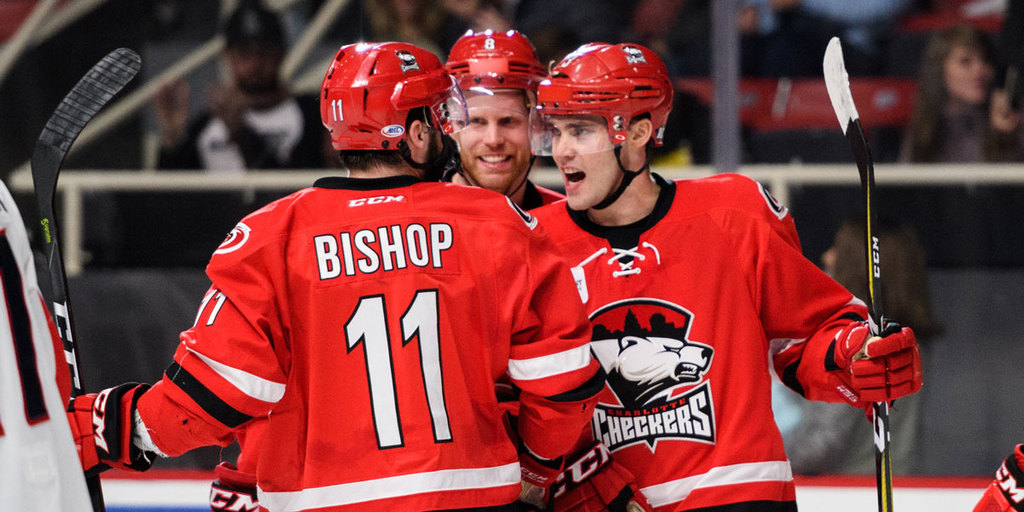 Checkers Score Early, Often in Rout of Springfield