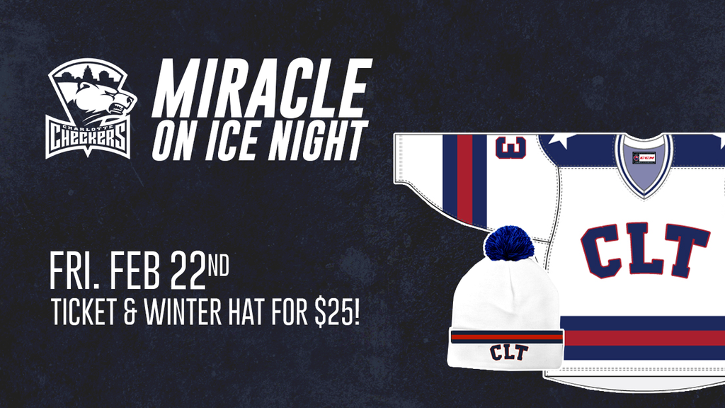 Charlotte Checkers Miracle on Ice Night