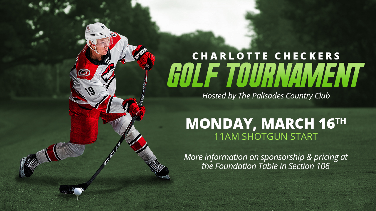 Charlotte Checkers Golf Tournament