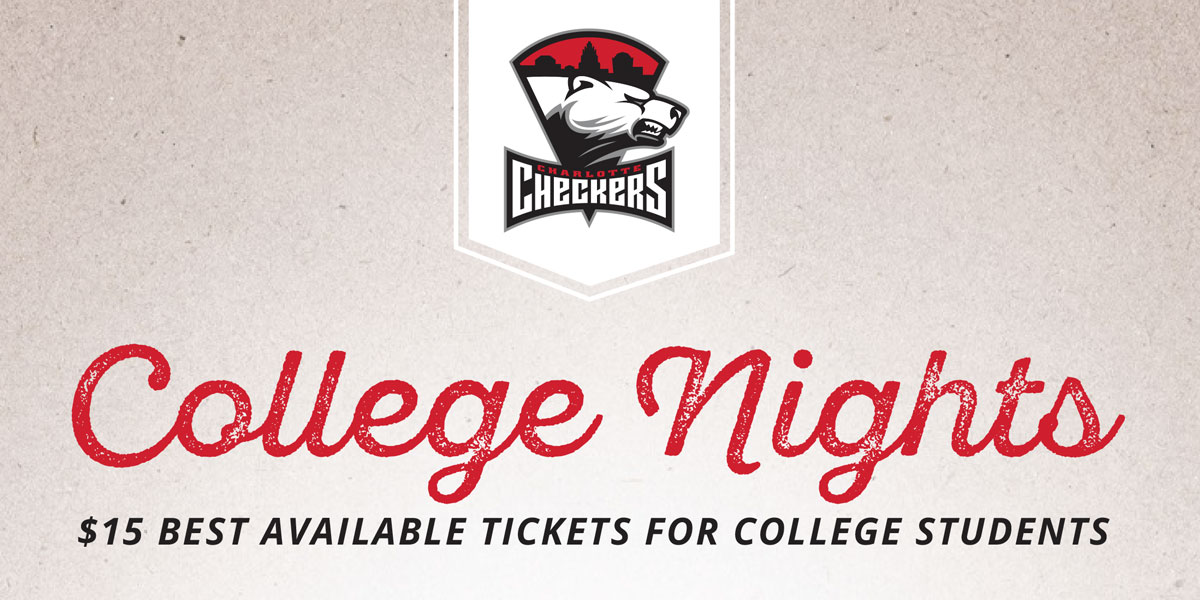 Charlotte Checkers College Nights