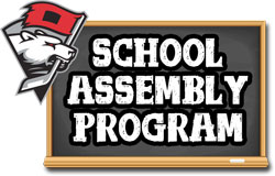 Charlotte Checkers School Assembly Program