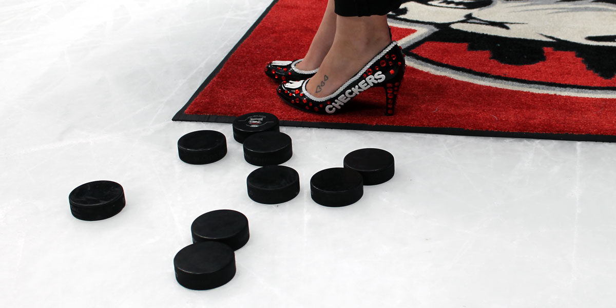 Charlotte Checkers Hockey and Heels