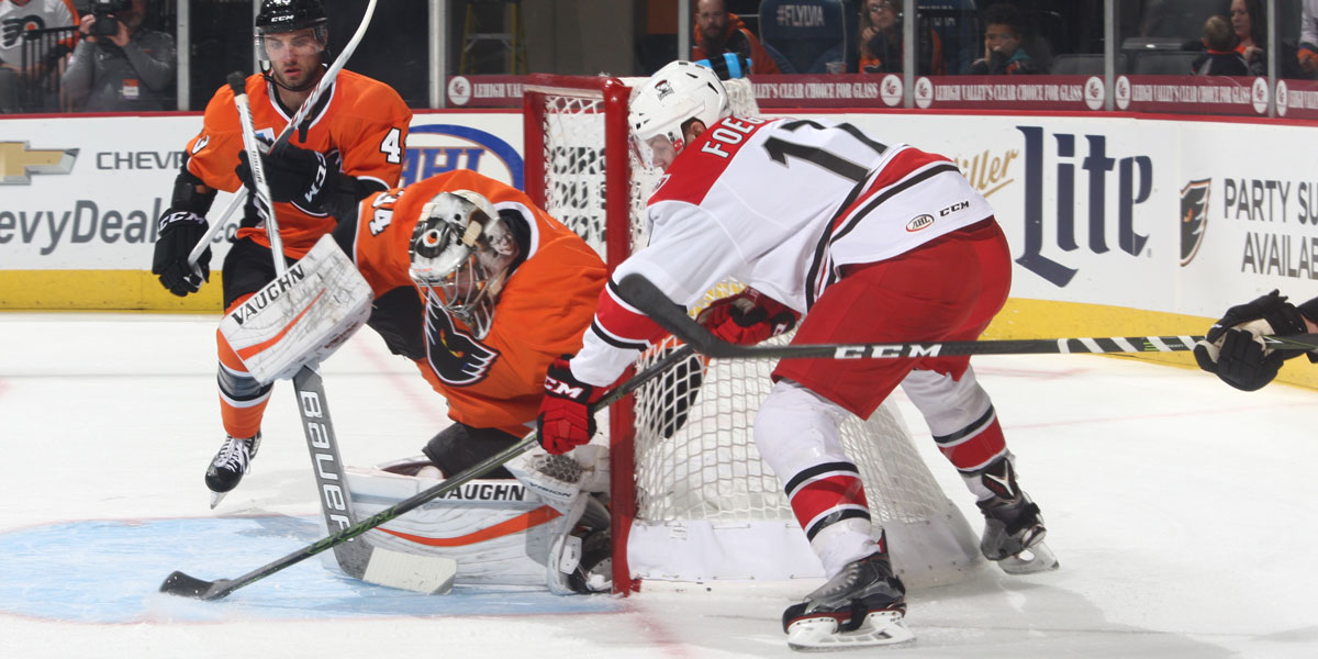 Charlotte Checkers sweep preseason games against Lehigh Valley with 5-2 win